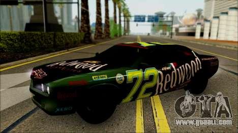 GTA 5 Bravado Gauntlet Redwood HQLM for GTA San Andreas back view