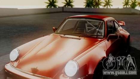 Porsche 911 Turbo (930) 1985 Kit A for GTA San Andreas wheels