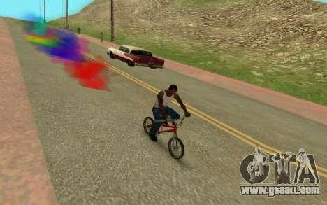 Bike Smoke for GTA San Andreas