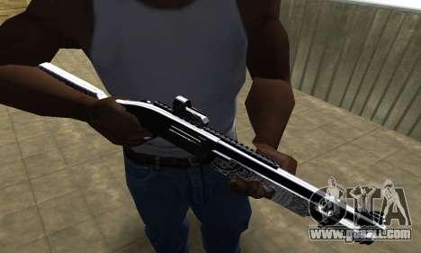 Black Shotgun for GTA San Andreas
