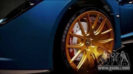 Hennessey Venom GT 2012 U.S.A American for GTA San Andreas interior