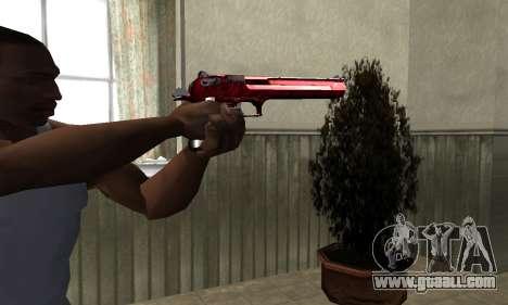 Redl Deagle for GTA San Andreas