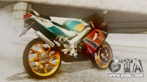 Honda NSR 150 SP for GTA San Andreas left view