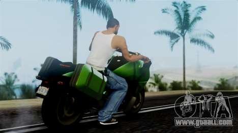 Dinka Vindicator GTA 5 Plate for GTA San Andreas left view