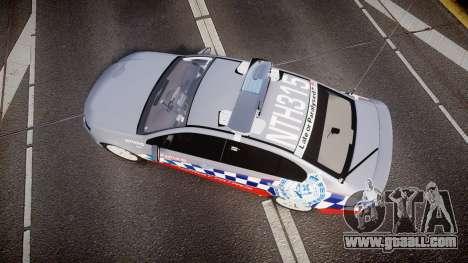 Ford Falcon FG XR6 Turbo Highway Patrol [ELS] for GTA 4 right view