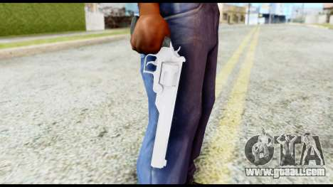 Desert Eagle from Resident Evil 6 for GTA San Andreas third screenshot
