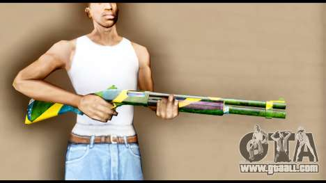 Brasileiro Shotgun for GTA San Andreas third screenshot