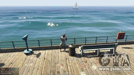 GTA 5 Fishing Mod 0.2.7 BETA second screenshot