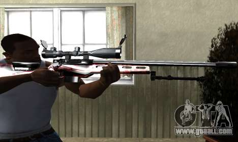 Redl Sniper Rifle for GTA San Andreas second screenshot