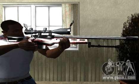 Redl Sniper Rifle for GTA San Andreas second screenshot