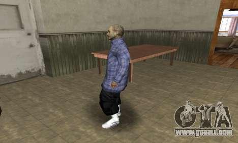 Rifa Skin Second for GTA San Andreas second screenshot