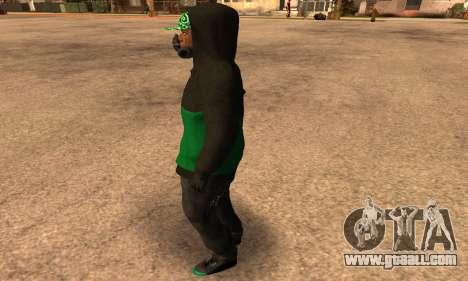 Fam Black for GTA San Andreas second screenshot