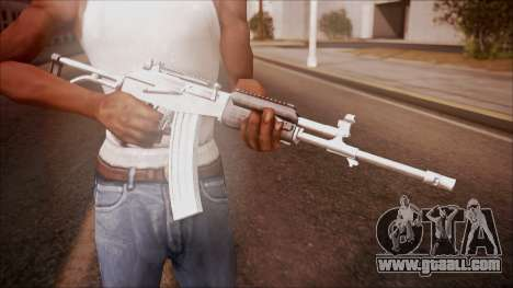 Galil AR v1 from Battlefield Hardline for GTA San Andreas third screenshot