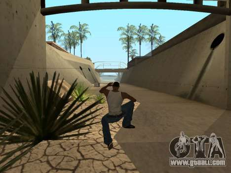 Ped.ifp Animation Gopnik for GTA San Andreas sixth screenshot