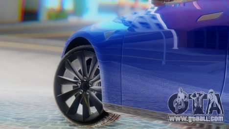 Tesla Model S for GTA San Andreas back left view