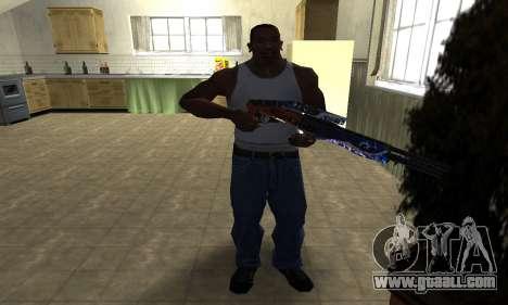 Fish Power Combat Shotgun for GTA San Andreas third screenshot