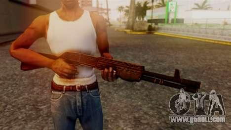 BlueSteel Shotgun for GTA San Andreas third screenshot