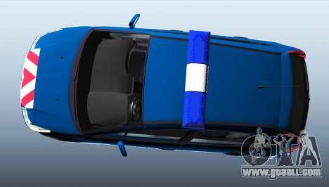 Citroen C4 Gendarmerie [ELS] for GTA 4 left view