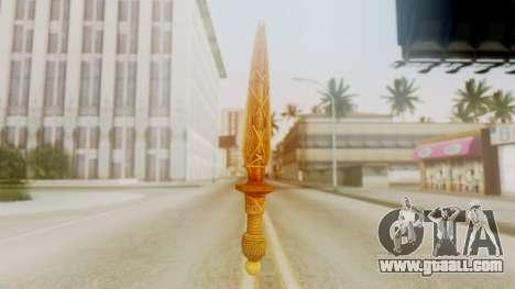 Ceremonial Dagger for GTA San Andreas