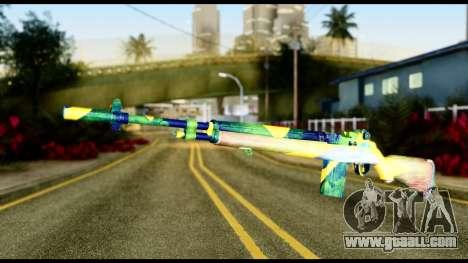 Brasileiro Rifle for GTA San Andreas