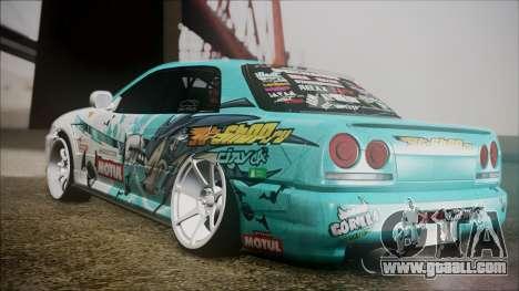 Nissan Skyline ER34 GT-Shop for GTA San Andreas