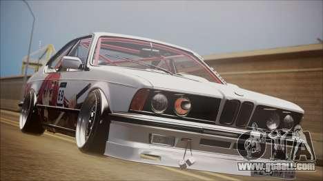 BMW E24 Shakugan No Shana Itasha for GTA San Andreas
