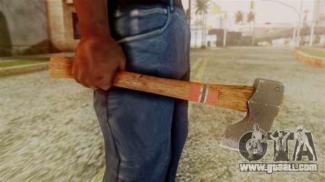 GTA 5 Hatchet v1 for GTA San Andreas third screenshot