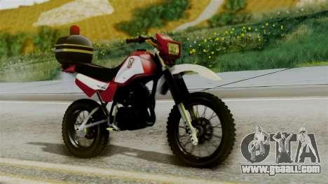 Yamaha DT 180 BM-RS for GTA San Andreas