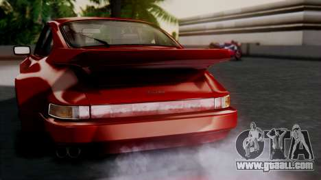Porsche 911 Turbo (930) 1985 Kit A for GTA San Andreas interior