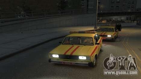 VAZ 2105 Gorsvet for GTA 4 back left view