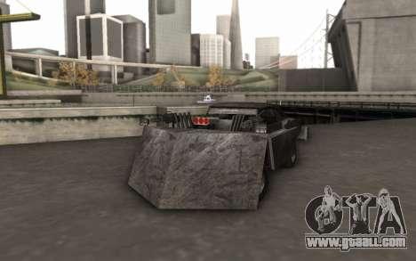 Dodge Charger Infernal Bulldozer for GTA San Andreas