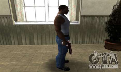 Redl Deagle for GTA San Andreas third screenshot