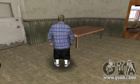 Rifa Skin Second for GTA San Andreas fifth screenshot