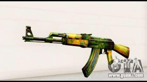 Brasileiro AK-47 for GTA San Andreas