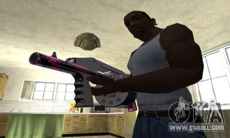 Granate Combat Shotgun for GTA San Andreas second screenshot