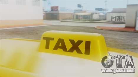 Stratum Taxi for GTA San Andreas right view