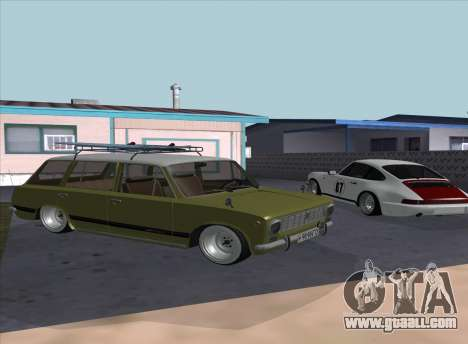 VAZ 2102 Resto for GTA San Andreas back left view