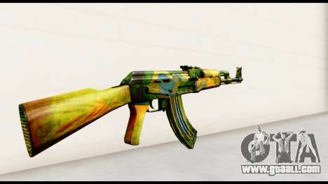 Brasileiro AK-47 for GTA San Andreas second screenshot