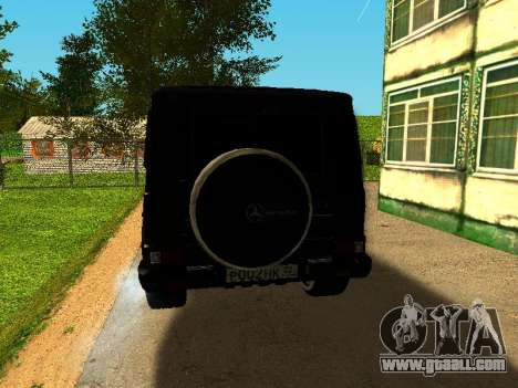 Mercedes-Benz G 320 for GTA San Andreas right view