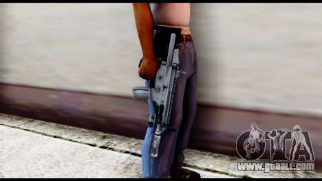 MK16 PDW Advanced Quality v1 for GTA San Andreas third screenshot