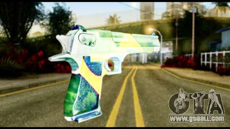 Brasileiro Desert Eagle for GTA San Andreas second screenshot