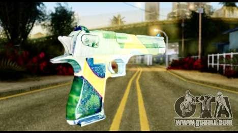Brasileiro Desert Eagle for GTA San Andreas second screenshot