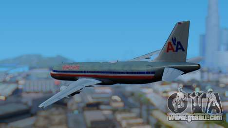 Airbus A320-200 American Airlines (Old Livery) for GTA San Andreas left view