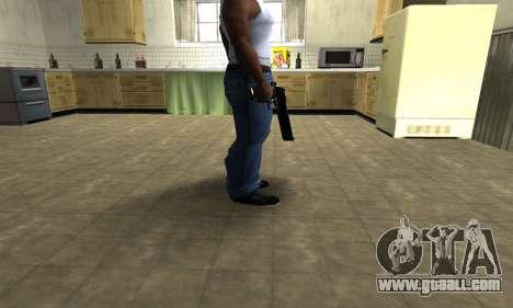 Black Cool Deagle for GTA San Andreas second screenshot