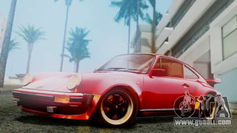 Porsche 911 Turbo (930) 1985 Kit A for GTA San Andreas left view