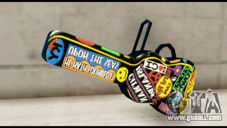 Guitar Case MG Colorful for GTA San Andreas