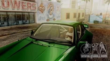 Porsche 911 Turbo (930) 1985 Kit A PJ for GTA San Andreas wheels