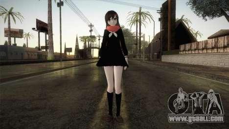Tateyama Ayano (Kagerou Project) for GTA San Andreas second screenshot