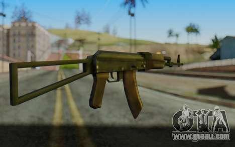 AK-74P for GTA San Andreas second screenshot