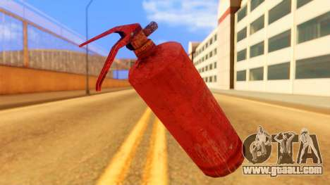 Atmosphere Fire Extinguisher for GTA San Andreas second screenshot